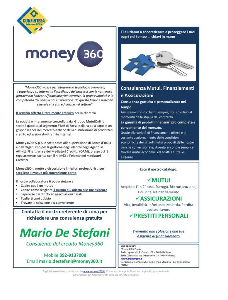Convenzione Money360